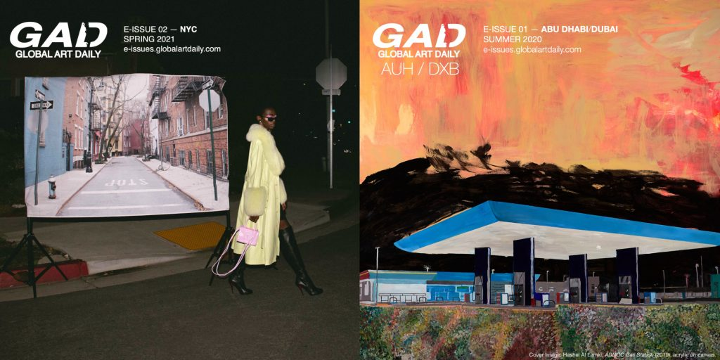 Global for dialogue and mutual understanding: GAD, an art publication from Abu Dhabi